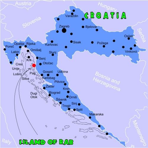 Croatia Island Of Rab Villa Jagoda